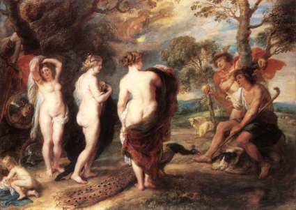 The Judgement of Paris, Rubens